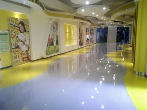 Aplikasi Megah Floor MFE 131 SL AKL