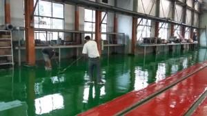 ProsesAplikasi Megah Floor MFE 131 Sl AKL